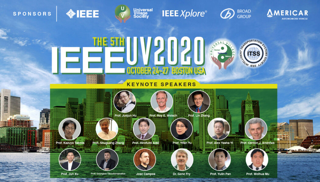 IEEE UV2020 Keynote Speakers